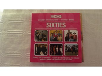 SIXTIES - 6 Classic CD Collections by 6 Classic Bands