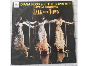 LP skiva Vinyl  Diana Ross and The Suprimes 1968