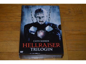 Hellraiser Trilogin - 3 Filmer 3-Disc - DVD Box