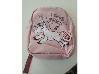 Ljusrosa ryggsäck med enhörning häst oanvänd ti.. (340350254) ᐈ Köp ... bf35fc26b7077