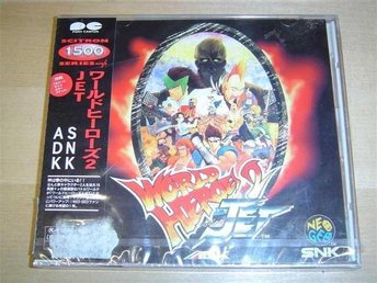 WORLD HEROES 2 JET ORIGINAL SOUNDTRACK *NYTT*
