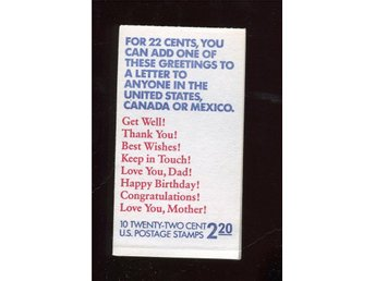 USA Häfte ca 1987 2,20 $ - Oxelösund - USA Häfte ca 1987 2,20 $ - Oxelösund