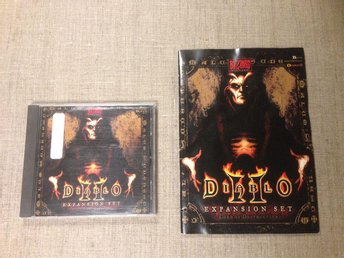 Diablo II (2) PC Expansion Set, Lord of Destruction i bra skick!