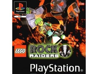Lego Rock Raiders - Playstation 1