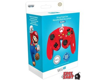Nintendo Wii U Wired Fight Pad Mario Edition