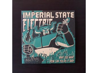 Imperial State Electric -What You want   röd vinyl 7