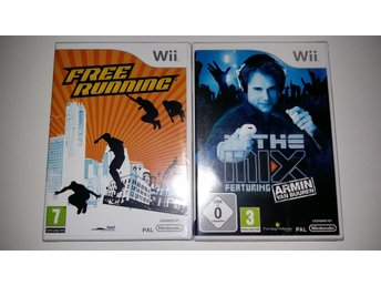 Två Spel IN THE MIX FEATURING ARMIN VAN BUUREN / Free Runnning till Nintendo Wii