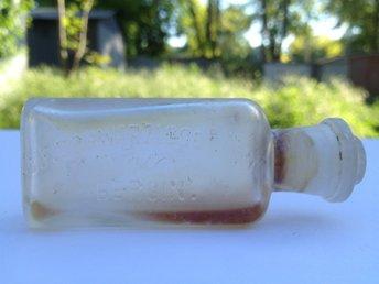 """Antik flaska parfym 1800-tals """"J.F.SCHWARZLOSE SOHNE.BERLIN."""" - Odessa - Antik flaska parfym 1800-tals """"J.F.SCHWARZLOSE SOHNE.BERLIN."""" - Odessa"""