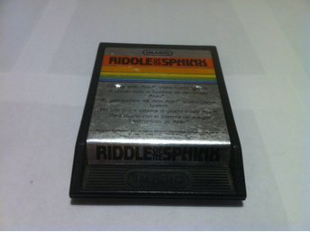 Atari 2600: Riddle of the Sphinx (Endast kassett!)