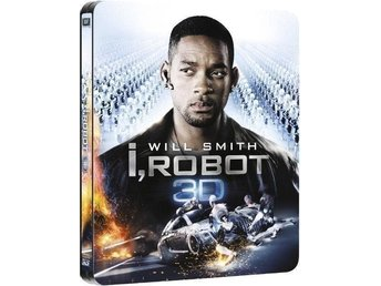 I, Robot 3D (2D Version) Limited Edition Steelbook Blu-ray