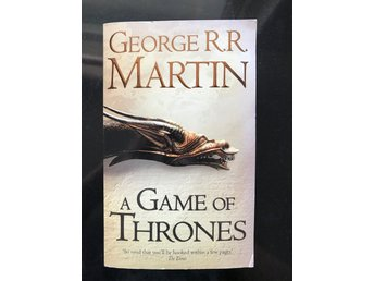 George R.R. Martin - A game of thrones - First book of ice and fire - engelska