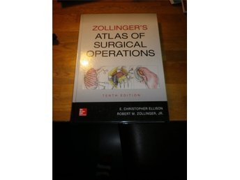 Zollinger´s atlas of surgical operations 10th ed. New book ISBN9780071797559