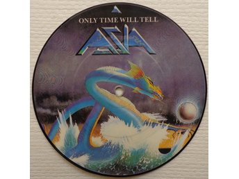 "ASIA 'Only Time Will Tell' 1982 UK 7"" picture-disc"