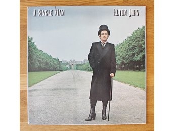 ELTON JOHN  --  A SINGEL MAN  --- 1978. Made in Holland