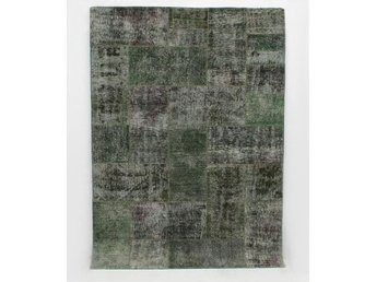 Carpet patchwork, ca 243x174 cm