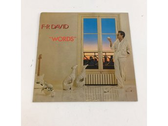 "Vinylskivor, F-R David ""Words"""