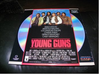 Young Guns - 1st Laserdisc