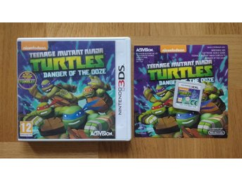 Nintendo 3DS: Turtles Danger of the Ooze