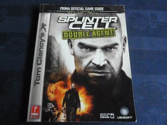 SPLINTER CELL DOUBLE AGENT, GAME GUIDE, BOK, BÖCKER