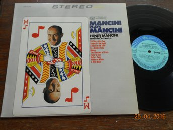 HENRY MANCINI - Plays Mancini and other composers, RCA Camden CAS-2158 Tyskland
