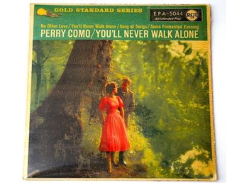 "Perry Como / You´ll Never Walk Alone EP 7"" 1958"
