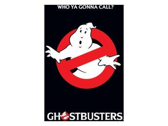 Ghostbusters Affisch Logo