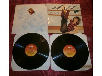JANE FONDA´S  WORKOUT RECORD  2LP RECORDS