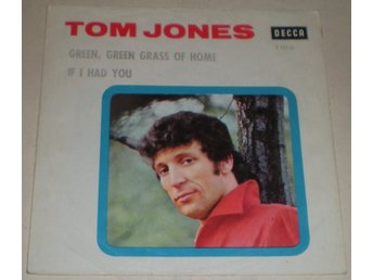Tom Jones SINGELOMSLAG Green green grass of home 1966