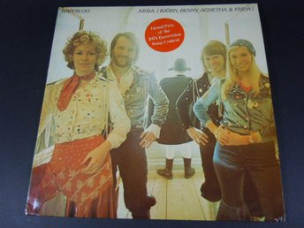 LP / VINYL / ALBUM / SKIVA - ABBA - WATERLOO