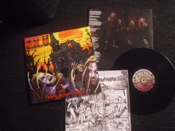 F.K.U. (Darkane/Entombed) -Where moshers LP with comic mag