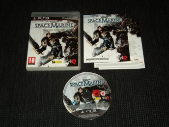PS3 Space Marine Limited Edition