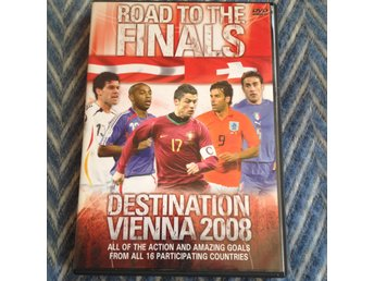 "DVD, ""Road to the finals, destination Vienna 2008"", fotbolls-EM"