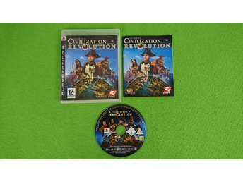 Civilization Revolution KOMPLETT Ps3 Playstation 3
