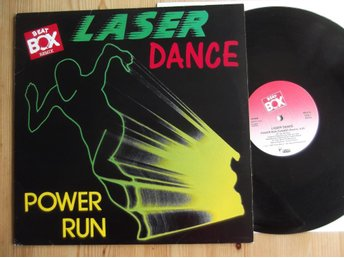 Laser Dance- Power Run (Remix)  Maxi