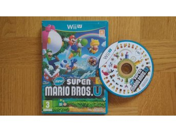 Nintendo Wii U: NEW Super Mario Bros U