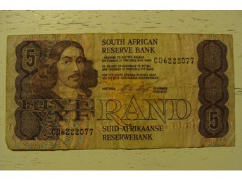 South Africa 5 Rand sedel