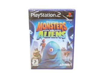 Monsters vs Aliens (Fabriksinplastat)