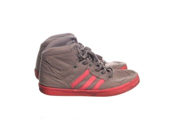 Adidas, Sneakers, Strl: 45,5, High Tops, Grå/Rosa