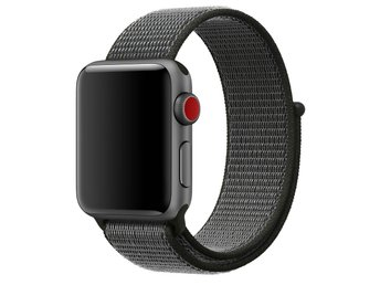 Nylon Loop 38/40mm Apple Watch Armband - (DARK OLIVE)