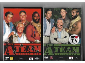 THE A-TEAM SÄSONG 1+2 DVD