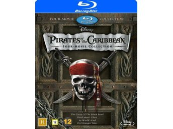 Pirates of the Caribbean 1-4 (4 Blu-ray)