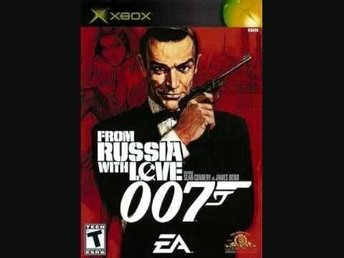 FROM RUSSIA WITH LOVE 007 - XBOX