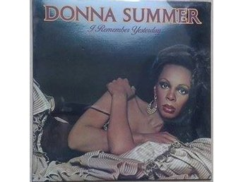 Donna Summer title* I Remember Yesterday* Disco SEALD