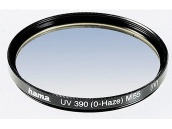 HAMA Filter UV 55mm. 1-lager/sida