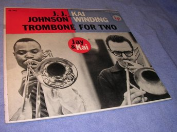 Johnson & Winding - Trombones For Two (LP) US org 56 6-eyed