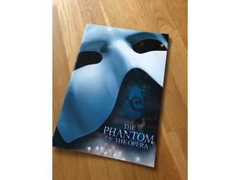 Phantom of the opera broschyr LONDON
