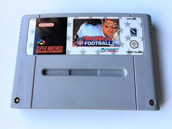 Troy Aikman Football - Super Nintendo SNES - PAL