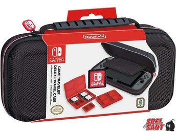 Nintendo Switch Deluxe Travel Case Svart
