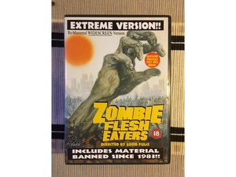 Zombie flesh eaters/Lucio Fulci/Extreme version