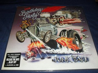 "Birthday party - Junk yard + 7"" & cd ( Nick Cave )"